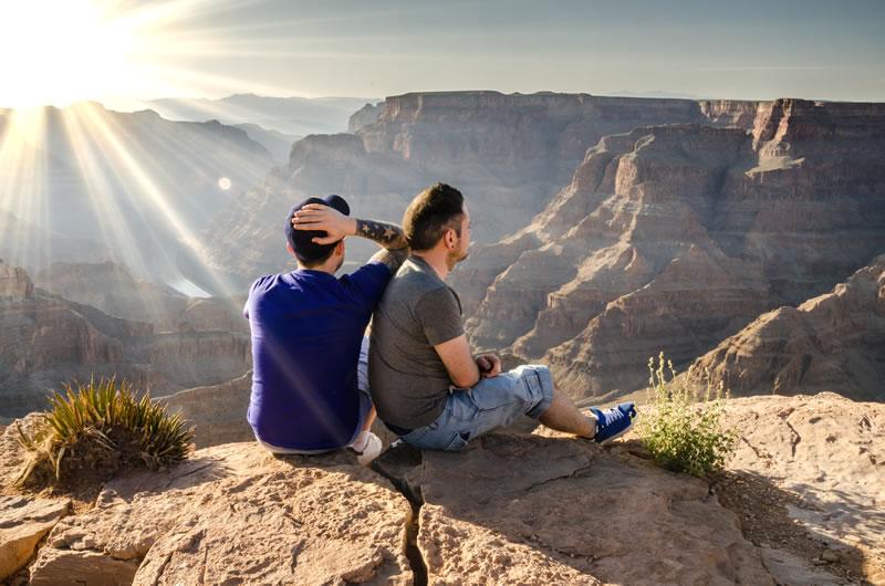 People at Grand Canyon