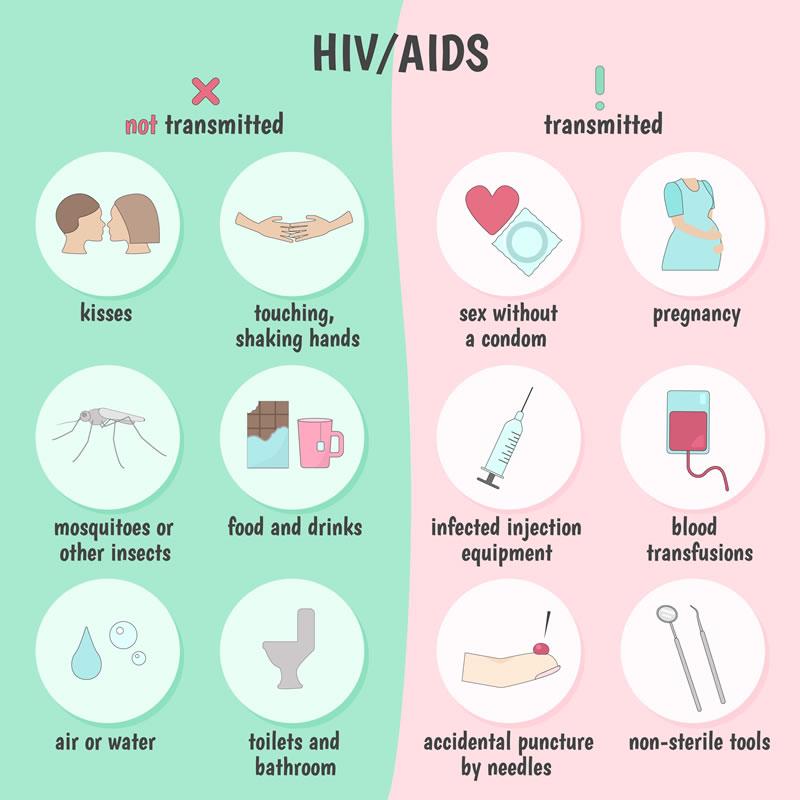 HIV Transmission Graphic
